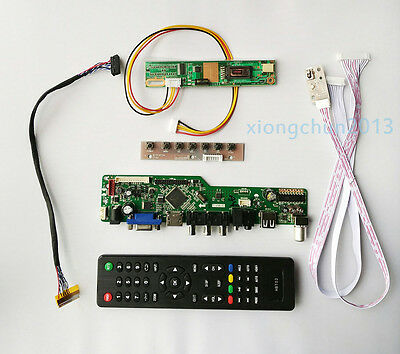 5244e05b5d7 TV PC HDMI CVBS RF USB LCD Controller Board kit for CLAA154WB05AN 1280 800  panel