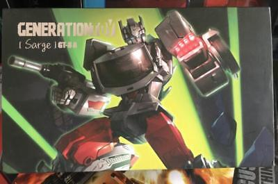 Transformers Generation Toy GT-08A Guardian Sarge in Stock