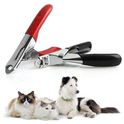 Pet Dog Cat Nail Toe Claw Clippers Scissors Shears Trimmer Cutter Grooming Tools