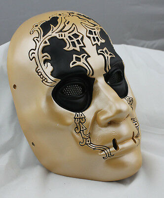 Fiber Resin Mesh Eye Airsoft Paintball Mask Harry Potter Death Eaters M771