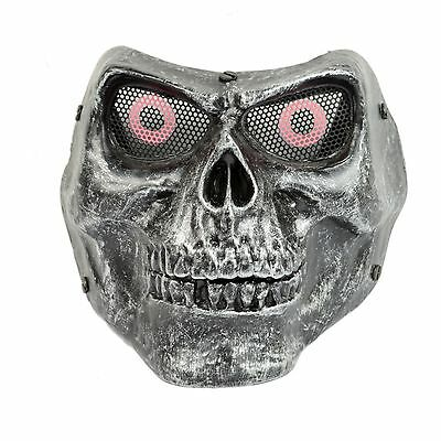 Fiber Resin Paintball Wire Mesh Eye Protection Army of Two M02 Skull Mask