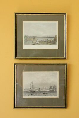 Vintage / antique Maritime prints, Ships, Nautical. The Port of Liverpool.
