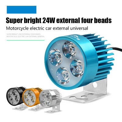 Electric Vehicle Led Light Motorcycle Lamp Modified Bright Spotlights