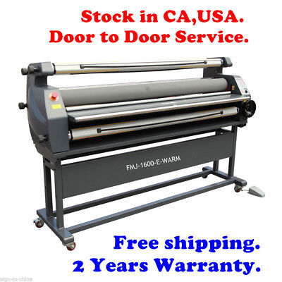 """63"""" Entry Level Full Auto Wide Format Heat Assisted Cold Laminator  USA Stock!!"""
