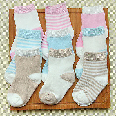 3Pairs of Baby Girls or Baby Boys Girls Pex Ankle Cotton Socks Multipack