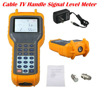 US Shipping RY S110 CATV Cable TV Digital Signal Level Meter DB Tester Tool