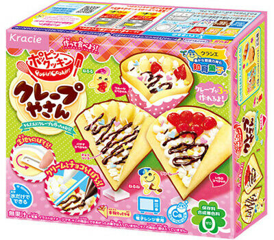 NEW September KRACIE POPIN COOKIN CREPE SHOP KIT DIY Japanese Candy FREE AIRMAIL