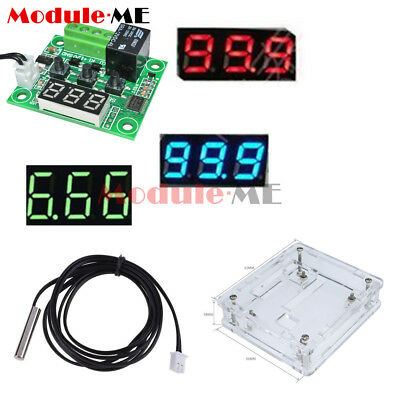 DC12V NTC10K 1% 3950 Cable W1209 Digital Thermostat Temperature Controller