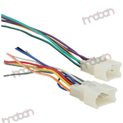 toyota car stereo cd dvd player wiring harness wire adapter for atermarket  radio