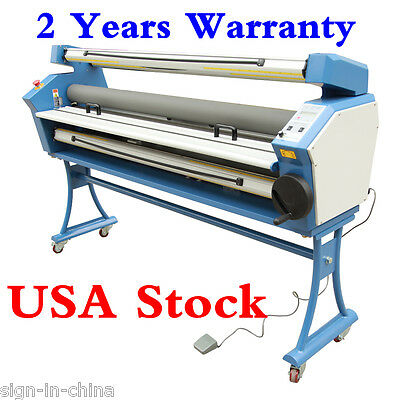 "110VUpgrade 63"" Full-auto Low Temp.Wide Format Cold Laminator with Heat Assisted"
