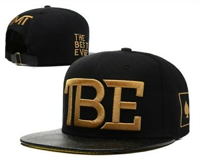 TMT The Money Team TBE Cap Black Gold Snapback Floyd Mayweather