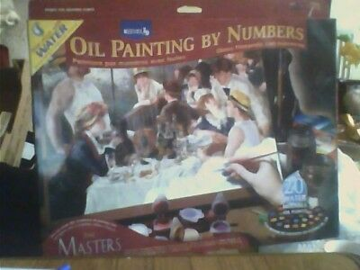 Oil Painting by Numbers-The Masters Collection Renoir