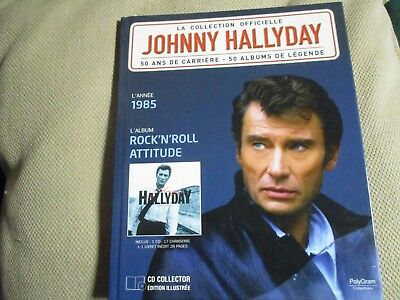 "Cd-Livre Neuf ""Johnny Hallyday - Rock N Roll Attitude (1985)"""