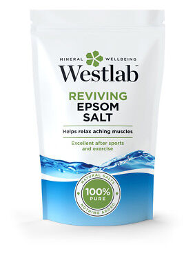 WESTLAB EPSOM BATH SALT 1000g - 100% NATURAL SALT