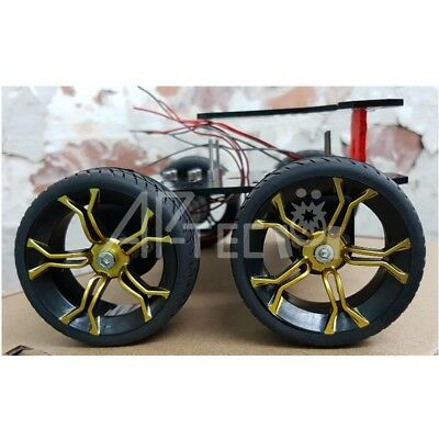 4WD High Torque ROBOT CHASSIS for Raspberry Pi Zero W and Pi Camera