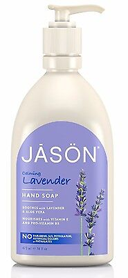 Jason Calming Lavender Hand Soap - Free From Paraben, Sls, Harsh Chemicals