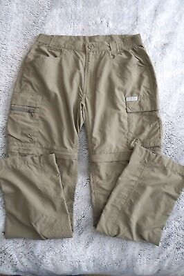 Columbia Titanium Packable Convertible Khaki Pants Womens Medium