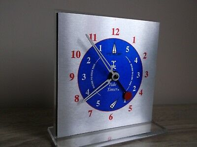low Tide high tide timer plus Clock  Nautical