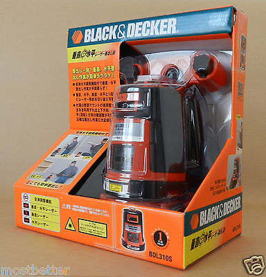 Black & Decker BDL310S Projected Crossfire Auto Level Laser