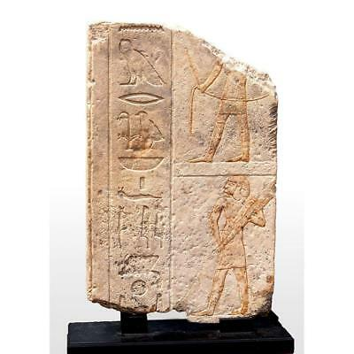 A large Egyptian limestone relief for Ipi, Old Kingdom, Dynasty V, ca 2465-2323