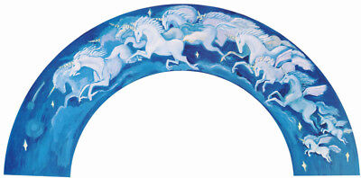 Lot Of 2 Posters: Fantasy : Herd Of Unicorns - Arch Shaped        Rc13 - Top