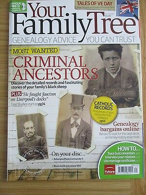 Your Family History Magazine Issue # 63 Spring 2008  Genealogy
