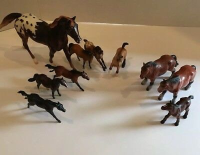 Breyer And Bullyland Horses Lot