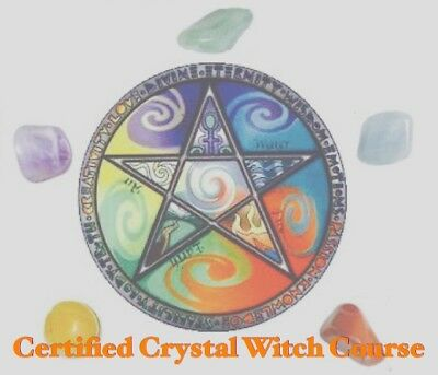 Certified Crystal Witch Course-HOMESTUDY AT YOUR PACE