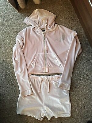 river island girls velvet loungewear suit