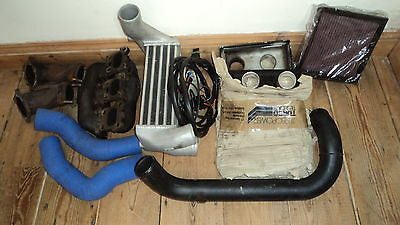 W124 M104-980 300-24 3 0L part Hughes of Beaconsfield Twin Turbo kit AMG  300CE