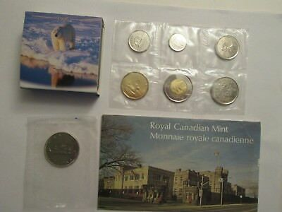 Mixed Lot of Canada Coins, 1996 Proof $2, 1968 $1, 1974 & 2013 Mint Sets