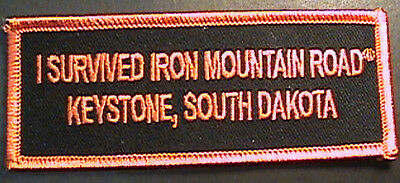 "Exclusive ""i Survived Iron Mountain Road"" Keystone, South Dakota Vest Patch"