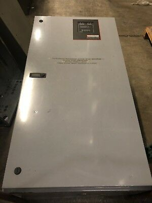 Zenith 225 Amp 480V 3 Phase Indoor Automatic Transfer Switch Used