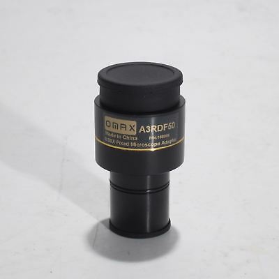 Omax A3Rdf50 0.50X C-Mount Microscope Camera Adapter/reduction Lens 108006 New!
