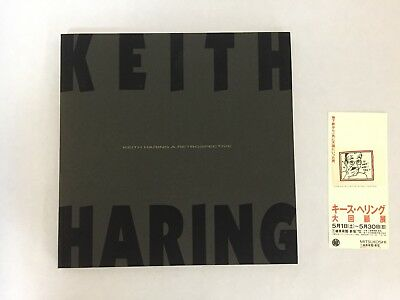 Japan Keith Haring A Retrospective Exhibition Art book 1993 Memoirs with stub