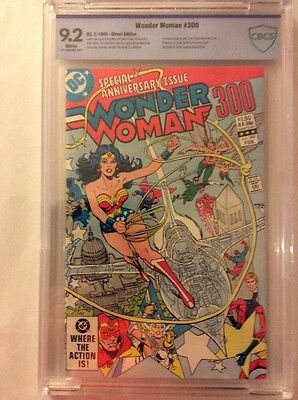 Wonder Woman #300 Anniversary Issue, CBCS, Giordano Cover