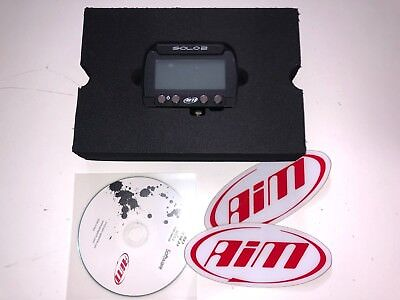 AIM X47SOLO2001U0 Solo 2 GPS Lap Timer NEW OPEN BOX