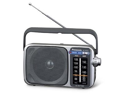 Panasonic RF-2400D Portable FM/AM Radio - New Tuner with Auto Frequency Control