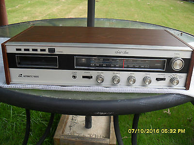 Automatic Radio Receiver (Omx-9843) With 8 Track Tape Player