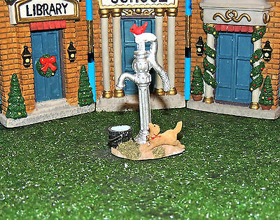 Water Pump With Bucket , Dog And Red Bird Scene 1:24 (G) Scale Diorama
