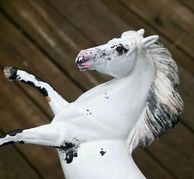 CM Breyer SM Stablemate customized G3 Rearing Andalusian Spanish Mustang Appaloo