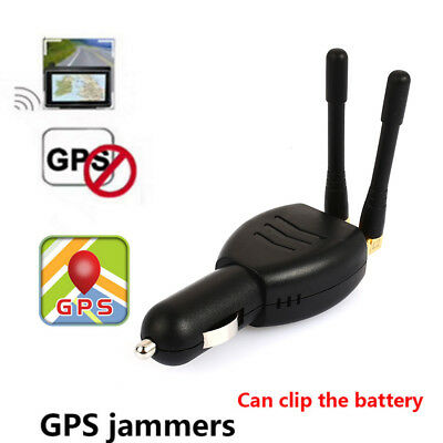 SALE Car Vehicle GPS Blocker Isolator Anti Tracking Device with Antenna +Fuse