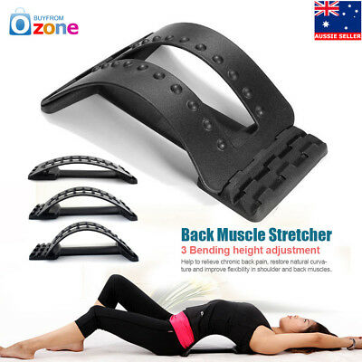 Back Magic Massager Stretcher Fitness Equipment Stretch Spine Relax Mate Tools