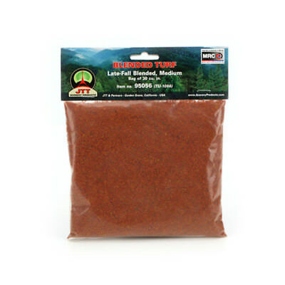 JTT Scenery Products - Medium Blended Turf, Late Fall