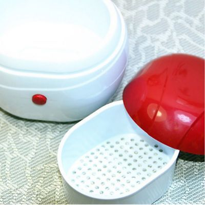 Mini Ultrasonic Cleaner Tool For Gold Silver Jewelry Ring Necklace Watches US