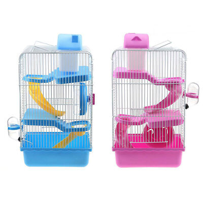 3 Tiers Gorgeous Hamster Mouse Cage Storey Fantasia Hamster Cage Castle