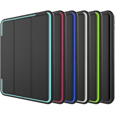 For iPad 9.7 2018 2017 6th Gen Shockproof Full Protective Cover Hybrid Hard Case