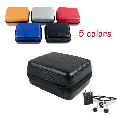 Portable EVA Carrying Case Carry Bag For Dental Surgical Binocular Loupes Colors