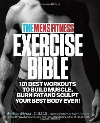 The Men's Fitness Exercise Bible / Sean Hyson 9780989594011