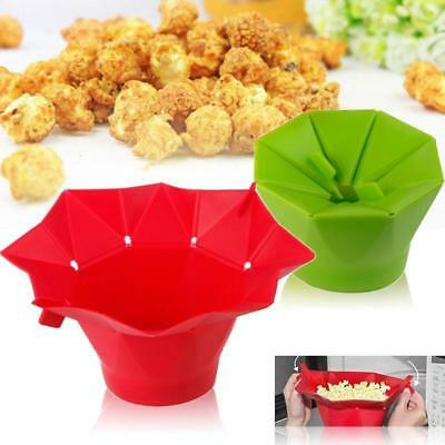 Creative Microwave Silicone Magic Household Popcorn Maker Popcorn Container